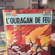 Cómics: CASTERMAN LEFRANC L´ OURGAN DE FEU BUEN ESTADO. Lote 211773083