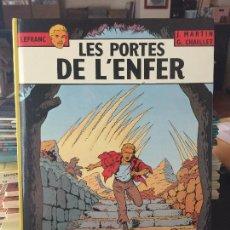 Cómics: CASTERMAN LEFRANC LES PORTES DE LÉNFER BUEN ESTADO. Lote 211773980