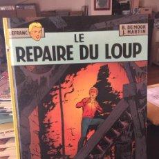 Cómics: CASTERMAN LEFRANC LE REPAIRE DU LOUP BUEN ESTADO. Lote 211774092