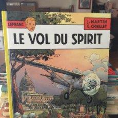 Cómics: CASTERMAN LEFRANC LE VOL DU SPIRIT BUEN ESTADO. Lote 211774250