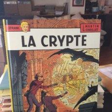 Cómics: CASTERMAN LEFRANC LA CRYPTE BUEN ESTADO. Lote 211774416
