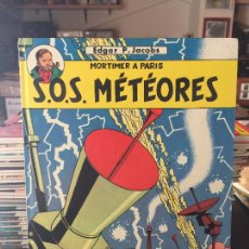 Cómics: EDITIONS DU LOMBARD LES AVENTURES DE BLAKE ET MORTIMER S.O.S. METEORES BUEN ESTADO. Lote 211774845