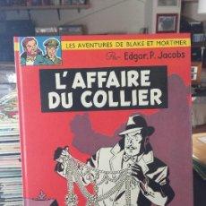 Cómics: EDITIONS DU LOMBARD LES AVENTURES DE BLAKE ET MORTIMER L´AFFAIRE DU COLLIER BUEN ESTADO. Lote 211774925