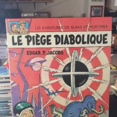 Cómics: EDITIONS DU LOMBARD LES AVENTURES DE BLAKE ET MORTIMER LE PIEGE DIABOLIQUE BUEN ESTADO. Lote 211774967