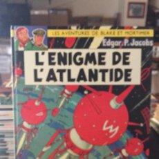 Cómics: EDITIONS DU LOMBARD LES AVENTURES DE BLAKE ET MORTIMER LÉNIGME DE LÁTLANTIDE BUEN ESTADO. Lote 211775122