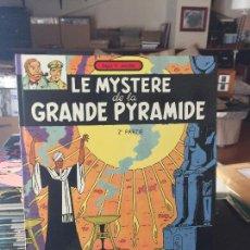 Cómics: LOMBARD LES AVENTURES DE BLAKE ET MORTIMER LE MYSTERE DE LA GRANDE PYRAMIDE 2 PARTIE BUEN ESTADO. Lote 211775527