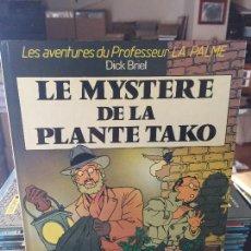 Cómics: GLENAT LES ADVENTURES DU PROFESSER LA PALME - LE MYSTERE DE LA PLANTE TAKO BUEN ESTADO. Lote 211775701