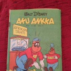 Cómics: WALT DISNEY AKU ANKKA N° 45 (05-11-1980). Lote 212286055
