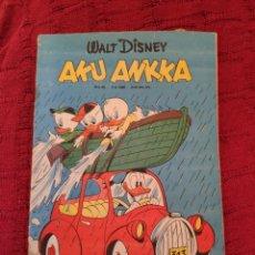 Cómics: WALT DISNEY AKU ANKKA N° 36 (03-09-1980). Lote 212286398