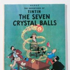 Cómics: TINTIN - THE SEVEN CRYSTAL BALLS - EDICIONES EL PRADO - STUDY COMICS. Lote 212320597