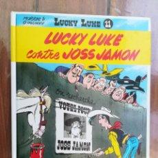 Cómics: LUCKY LUKE CONTRE JOSS JAMON. DUPUIS. EN FRANCÉS. Lote 212429063