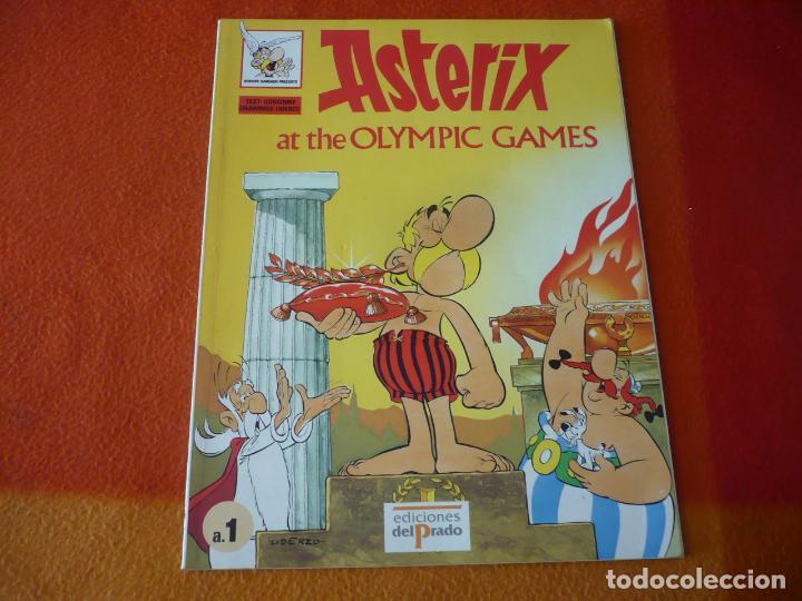 ASTERIX AT THE OLYMPIC GAMES ( GOSCINNY ) ¡BUEN ESTADO! EN INGLES EDICIONES DEL PRADO (Tebeos y Comics - Comics Lengua Extranjera - Comics Europeos)