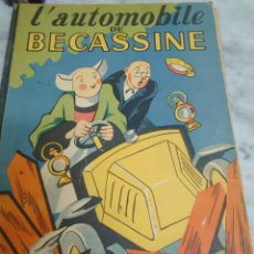 Fumetti: L´AUTOMOBILE DE BECASSINE - 1949 EN FRANCÉS PRPM 10. Lote 212731788