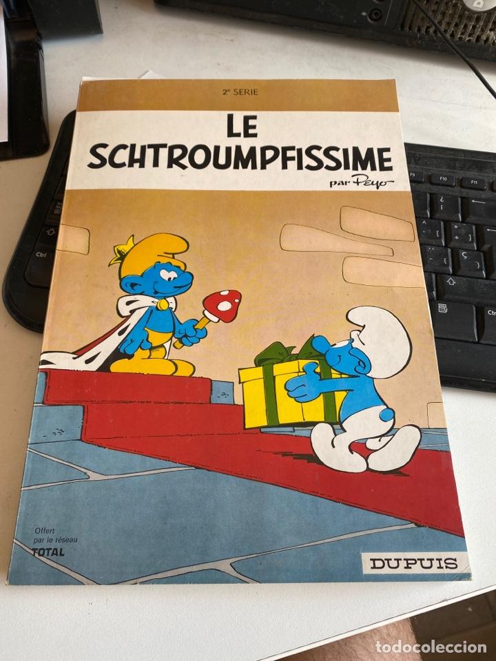 LE SCHTROUMPFISSIME (Tebeos y Comics - Comics Lengua Extranjera - Comics Europeos)