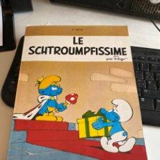 Cómics: LE SCHTROUMPFISSIME. Lote 212779866