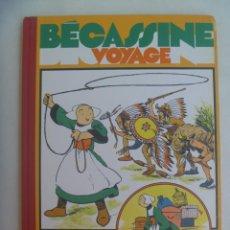 Cómics: BECASSINE VOYAGE , DE CAUMERY Y PINCHON ( 1921 ). EDICION DE LUJO DE 1991. EN FRANCES. Lote 213541515