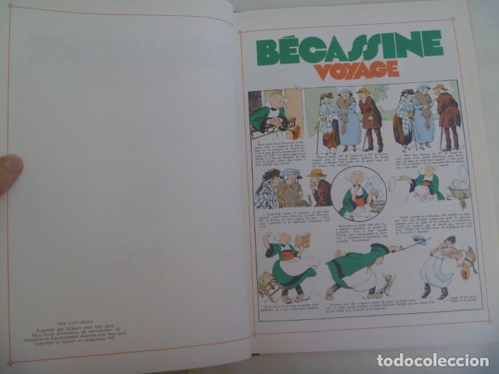 Cómics: BECASSINE VOYAGE , DE CAUMERY Y PINCHON ( 1921 ). EDICION DE LUJO DE 1991. EN FRANCES - Foto 2 - 213541515
