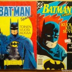 Comics : LOTE BATMAN SPECIAL: NÚMEROS 3-11. TOINEN VUOSI ALKAA/KUOLEMA KULKEE SUVUSSA (EDICIÓN FINLANDESA). Lote 213877446