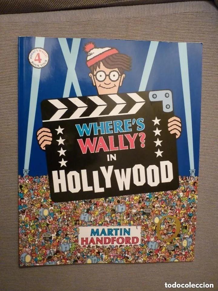 WHERE'S WALLY? IN HOLLYWOOD- BOOK 4. EN INGLÉS (Tebeos y Comics - Comics Lengua Extranjera - Comics Europeos)