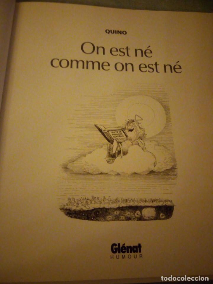 Cómics: quino on est né comme on est né,2002,frances - Foto 2 - 214944187