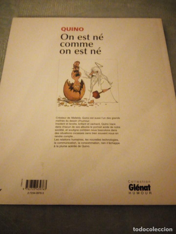 Cómics: quino on est né comme on est né,2002,frances - Foto 10 - 214944187