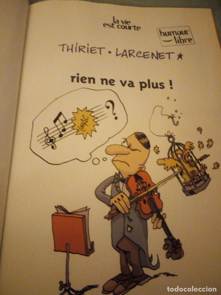Cómics: thiriet larcenet la vie est courte 3, año 2000,humor frances. - Foto 2 - 214945217