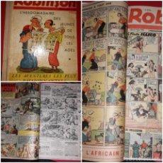 Cómics: ROBINSON L¨HEBDOMADAIRE DES JEUNES DE TOUS LES AGES Nº 183 A 195 POPEYE , MANDRAKE 1939 ***. Lote 215279221