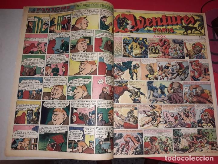 Cómics: Aventures ( Raoul et Gaston ,Amok,Agent Secret X-9 etc...) 1939 *** Gran Formato - Foto 4 - 215283515