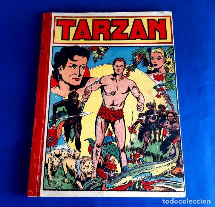 Cómics: Tarzan 1948 Publicatión Hebdomaire Gran Formato Encudernación 15 Numeros - Foto 2 - 215801583