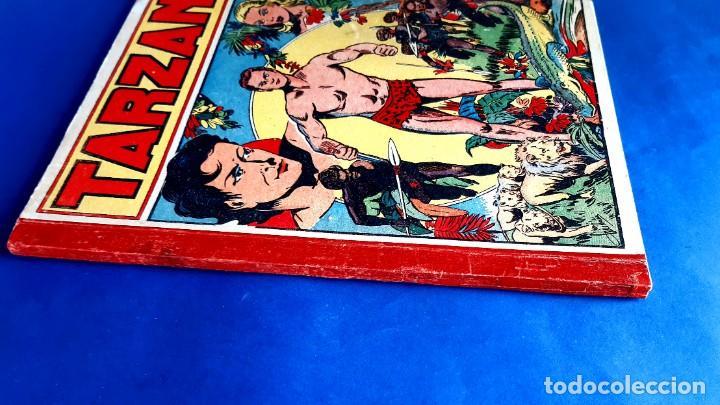 Cómics: Tarzan 1948 Publicatión Hebdomaire Gran Formato Encudernación 15 Numeros - Foto 3 - 215801583