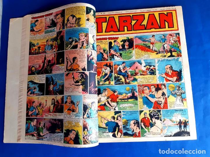 Cómics: Tarzan 1948 Publicatión Hebdomaire Gran Formato Encudernación 15 Numeros - Foto 4 - 215801583