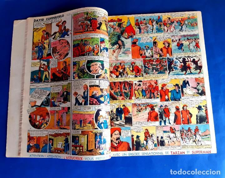 Cómics: Tarzan 1948 Publicatión Hebdomaire Gran Formato Encudernación 15 Numeros - Foto 5 - 215801583