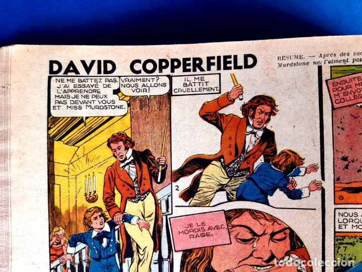 Cómics: Tarzan 1948 Publicatión Hebdomaire Gran Formato Encudernación 15 Numeros - Foto 9 - 215801583
