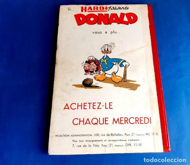 Cómics: Donald 1949 Publicatión Hebdomaire Gran Formato Encuadernación nº 105 à 130 Album nº 5 - Foto 3 - 215802338