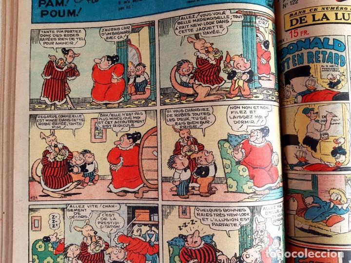 Cómics: Donald 1949 Publicatión Hebdomaire Gran Formato Encuadernación nº 105 à 130 Album nº 5 - Foto 5 - 215802338