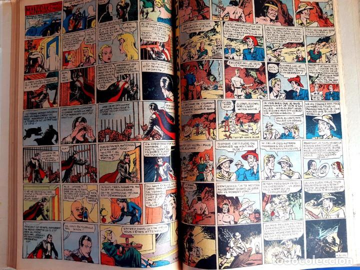 Cómics: Donald 1949 Publicatión Hebdomaire Gran Formato Encuadernación nº 105 à 130 Album nº 5 - Foto 6 - 215802338