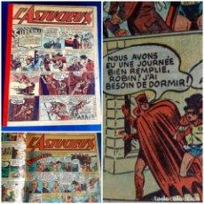 Cómics: L´ASTUCIEUX 1947 (SUPERMAN , BATMAN... ) PUBLICATION HEBDOMARIE Nº 31 À 45 GRAN FORMATO. Lote 215803566