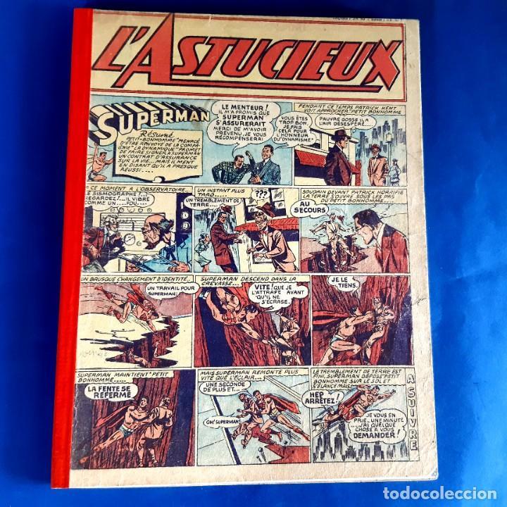 Cómics: L´Astucieux 1947 (Superman , Batman... ) Publication Hebdomarie nº 31 à 45 Gran Formato - Foto 2 - 215803566