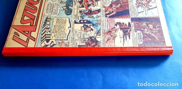 Cómics: L´Astucieux 1947 (Superman , Batman... ) Publication Hebdomarie nº 31 à 45 Gran Formato - Foto 3 - 215803566
