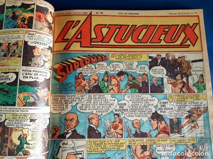 Cómics: L´Astucieux 1947 (Superman , Batman... ) Publication Hebdomarie nº 31 à 45 Gran Formato - Foto 6 - 215803566