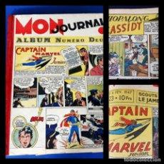 Cómics: MON JOURNAL -ALBUM DEUX - 1946 -DEL Nº 11 AL Nº 25-MEDIDAS 28 X36. Lote 215820885