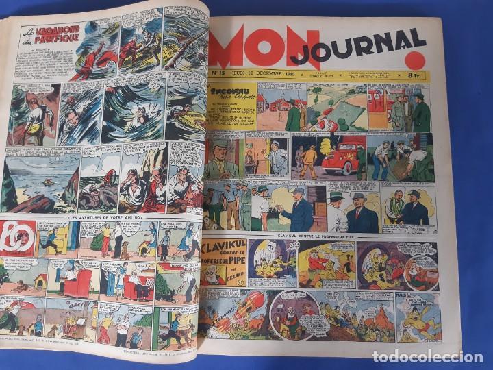 Cómics: MON JOURNAL -ALBUM DEUX - 1946 -DEL Nº 11 AL Nº 25-MEDIDAS 28 X36 - Foto 3 - 215820885