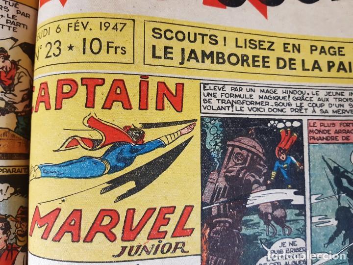 Cómics: MON JOURNAL -ALBUM DEUX - 1946 -DEL Nº 11 AL Nº 25-MEDIDAS 28 X36 - Foto 5 - 215820885