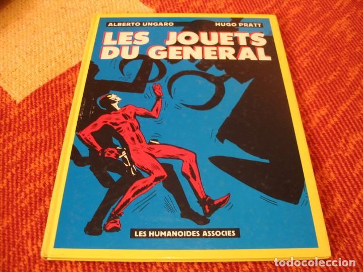 HUGO PRATT LES JOUETS DU GENERAL ALBERTO UNGARO HUMANOIDES ASSOCIES (Tebeos y Comics - Comics Lengua Extranjera - Comics Europeos)