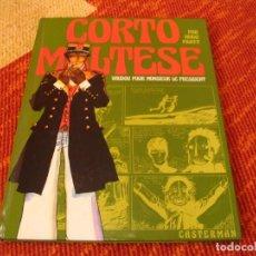Cómics: HUGO PRATT CORTO MALTESE VAUDOU POUR MONSIEUR LE PRESIDENT CASTERMAN. Lote 216688187