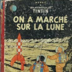 Cómics: HERGE - TINTIN - ON A MARCHE SUR LA LUNE - CASTERMAN 1955, CONTRAPORTADA B-12, TROISEME 3E EDITION. Lote 217207102