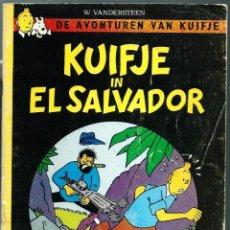 Cómics: TINTIN EN EL SALVADOR - KUIFJE IN EL SALVADOR - OBERON BV-HAARLEM - 1ª EDICION NEERLANDES DEL PIRATA. Lote 217208855