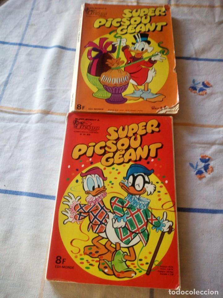 LOTE DE 2 TBOS SUPER PICSOU GEANT, Nº 85 Y Nº ESPECIAL,1978-1979.FRANCES (Tebeos y Comics - Comics Lengua Extranjera - Comics Europeos)