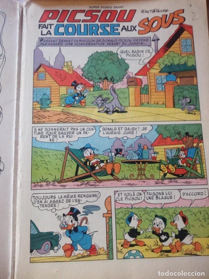 Cómics: Lote de 2 tbos super picsou geant, nº 85 y nº especial,1978-1979.frances - Foto 5 - 217520187