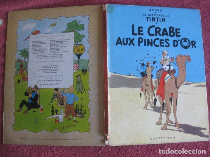 TINTIN. LE CRABE AUX PINCES D'OR. CASTERMAN 1966. (Tebeos y Comics - Comics Lengua Extranjera - Comics Europeos)
